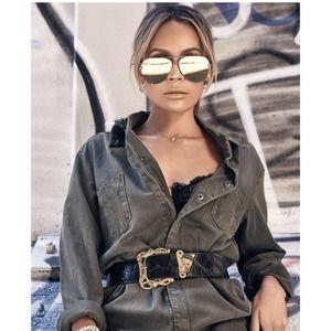 QUAY Australia X Desi Perkins MIRROR Sunglasses